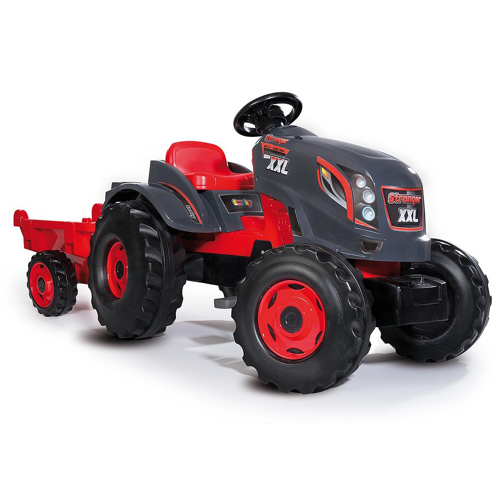 Smoby Tractor Stronger XXL + trailer
