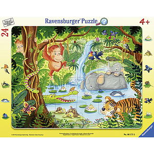 Ravensburger Frame Puzzle 24 pc In the Jungle