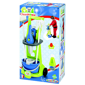 Ecoiffier cleaning set
