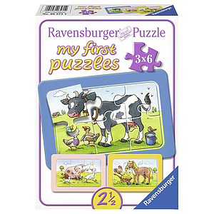 Ravensburger My First Puzzles 3x6 pc