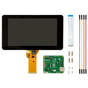 "Raspberry Pi 7"" Touch Screen"