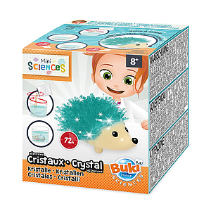 Buki Mini Sciences Crystal hedgehog