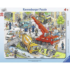 Ravensburger Frame Puzzle 39 pc A Rescue Mission