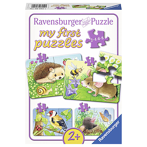 Ravensburger My First Puzzles 2-4-6-8 pc