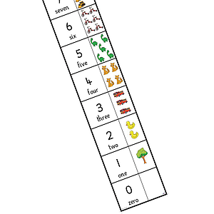 TTS Bee-Bot and Blue-Bot Number Line Mat