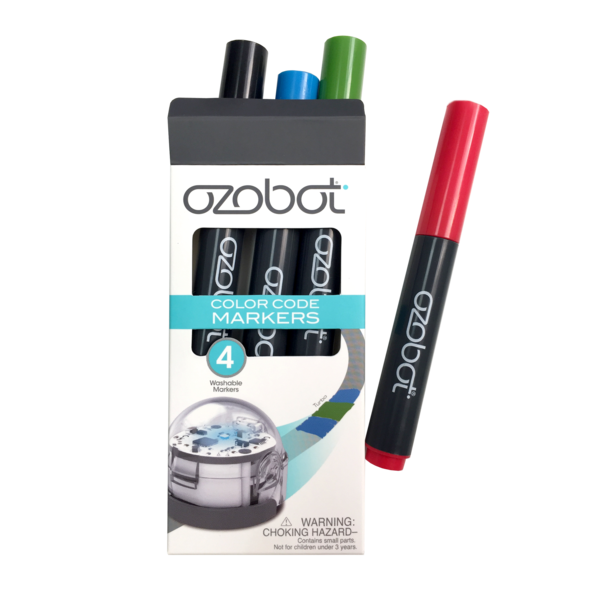 Ozobot markers - non-permanent