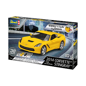 Revell 2014 Corvette® Stingray 1:25 Easy-Click