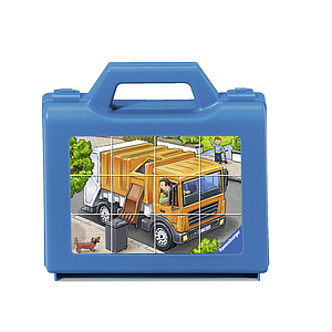Ravensburger Cube Puzzle Favorite Vehicles