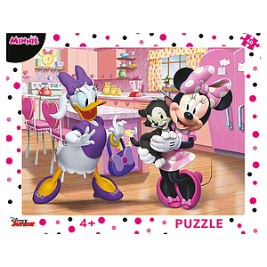 Dino Frame Puzzle 40 pc big, Disney Pink Minnie