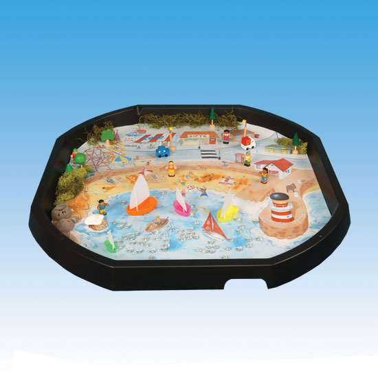 TTS Active World Tuff Tray Seaside Mat