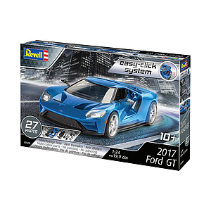Revell 2017 Ford GT 1:24 Easy-Click