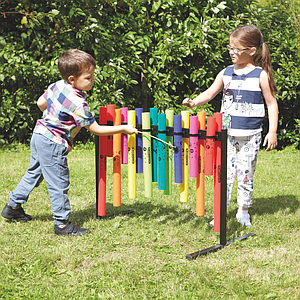 TTS Double Sided Outdoor Boomwhacker Frame