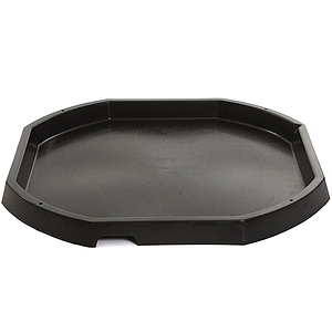 TTS Plastic Active World Discovery Tuff Tray Black
