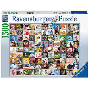 Ravensburger Puzzle 1500 pc 99 Cats