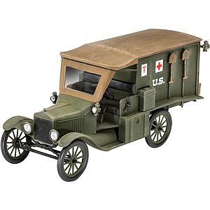 Model T 1917 Ambulance Scale: 1:35