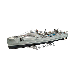 Revell plastic model German Fast Attack Craft S-100 1:72