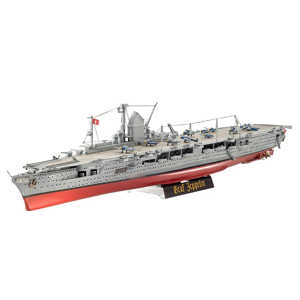 Revell German Aircraft Carrier GRAF ZEPPELIN Scale: 1:720