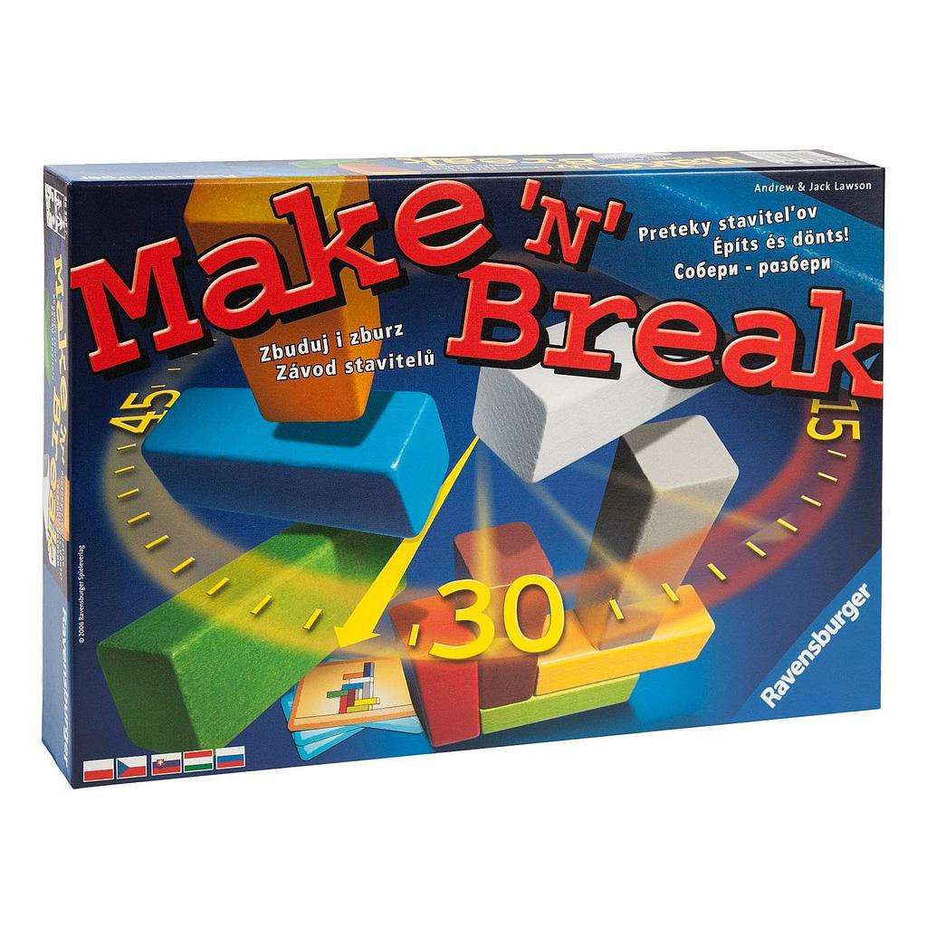 Ravensburger Board Game Create and Demolish.