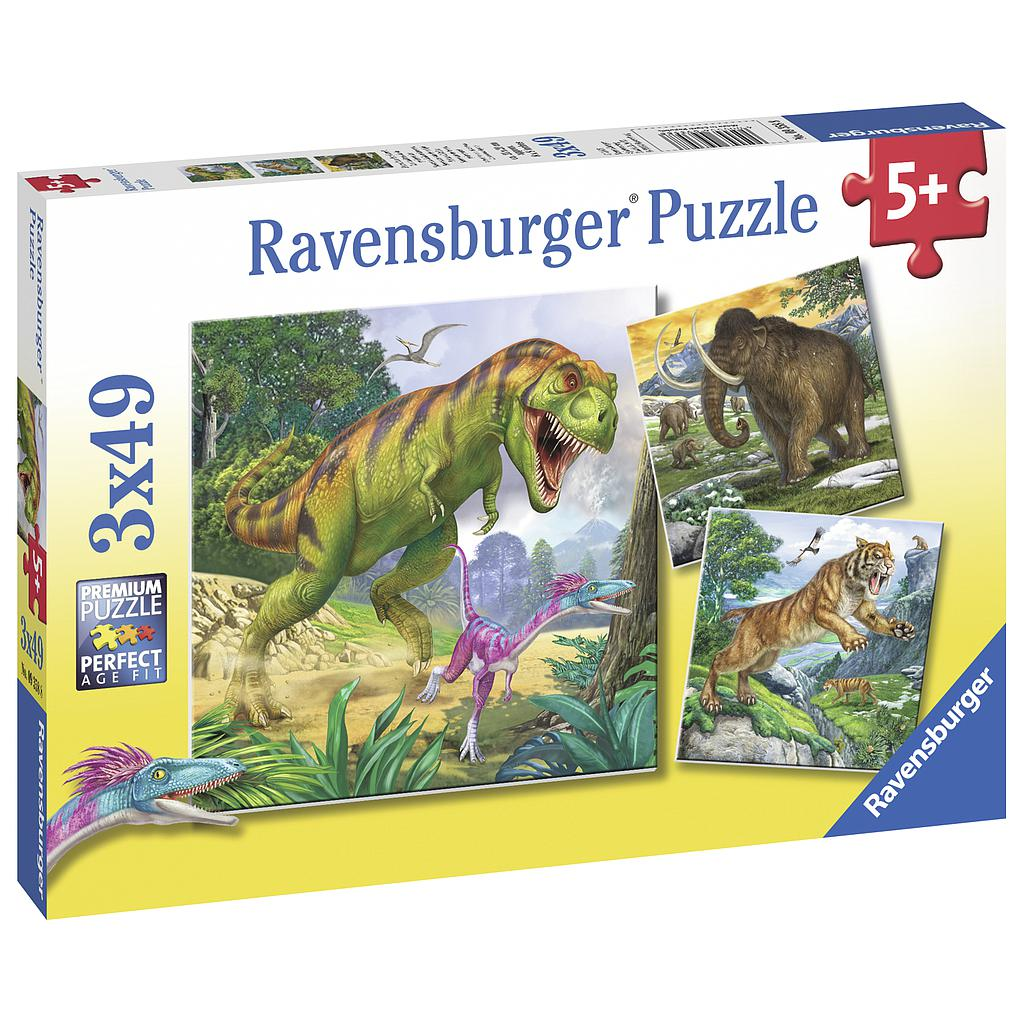 Ravensburger Puzzle 3x49 pc The Ancient Ruler