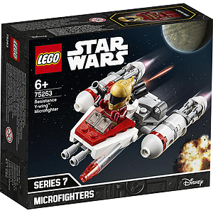 LEGO Star wars Vastupanujõudude Y-Wing Microfighter