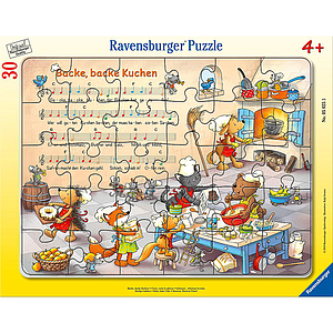Ravensburger Frame Puzzle 30 pc Bakery