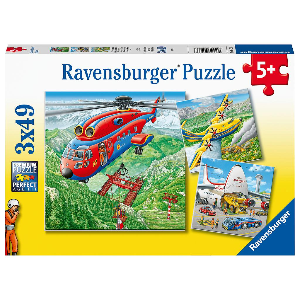 Ravensburger Puzzle 3x49 pc Above the Clouds