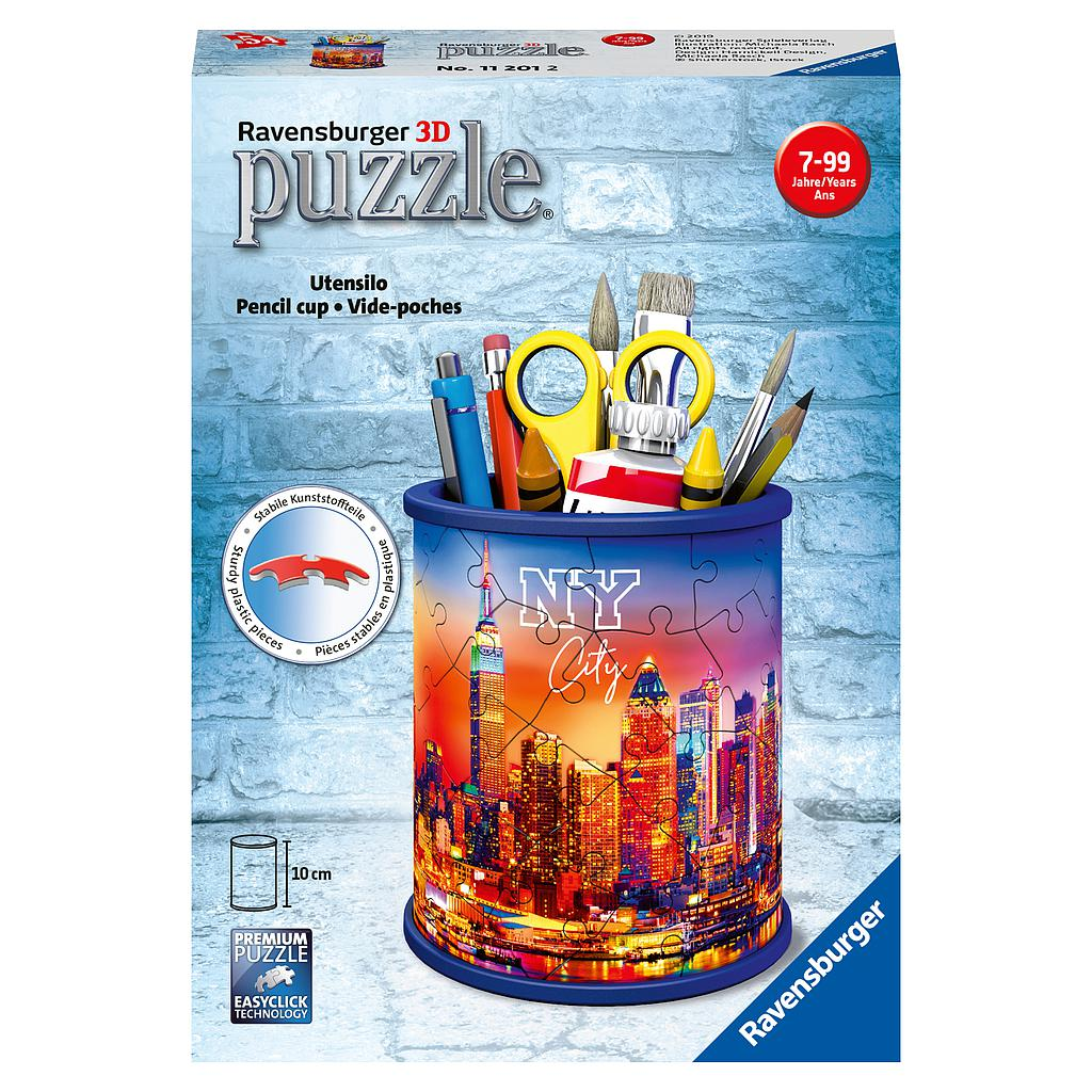 Ravensburger 3D Puzzle Pencil Cup NY City