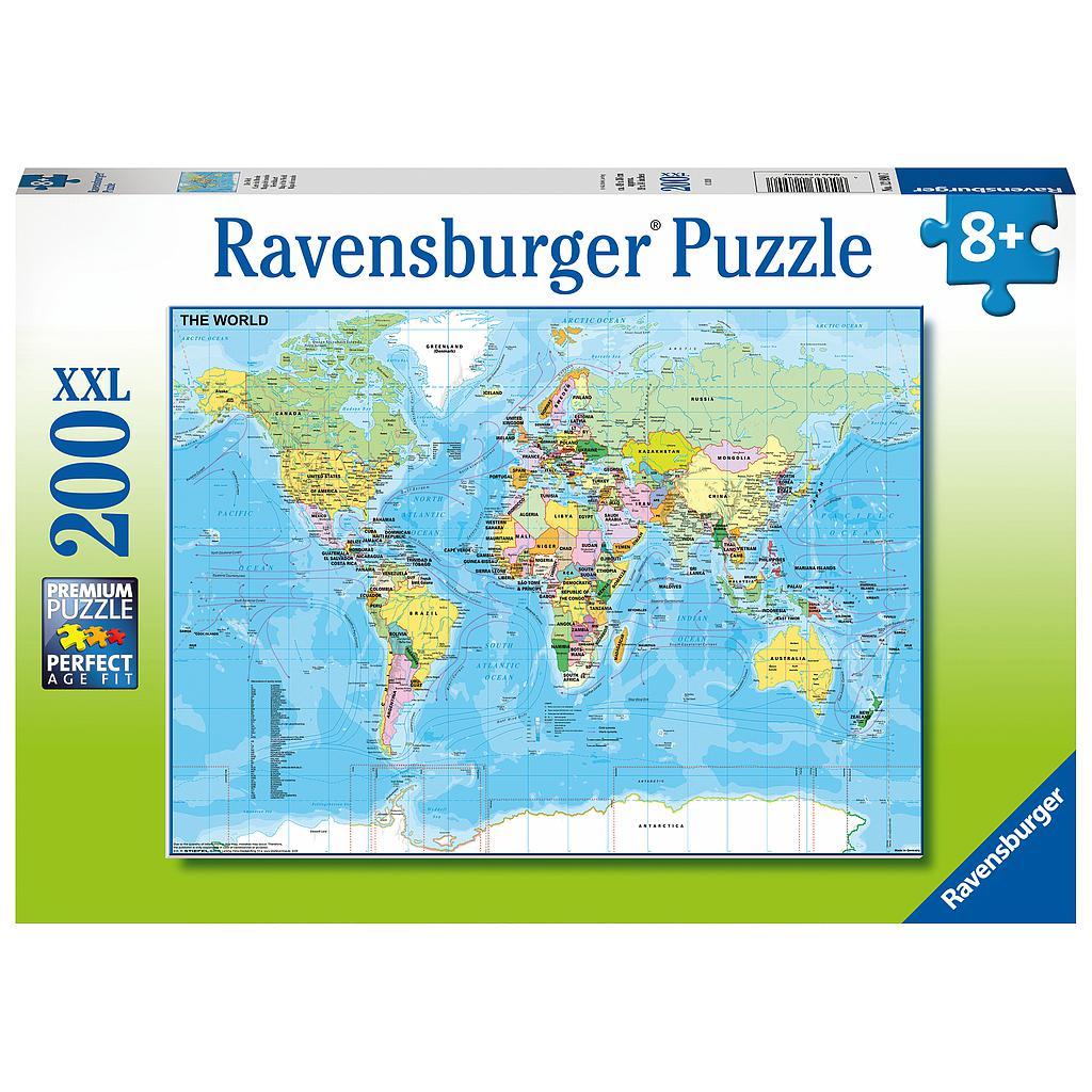 Ravensburger Puzzle 200 pc Map of the World
