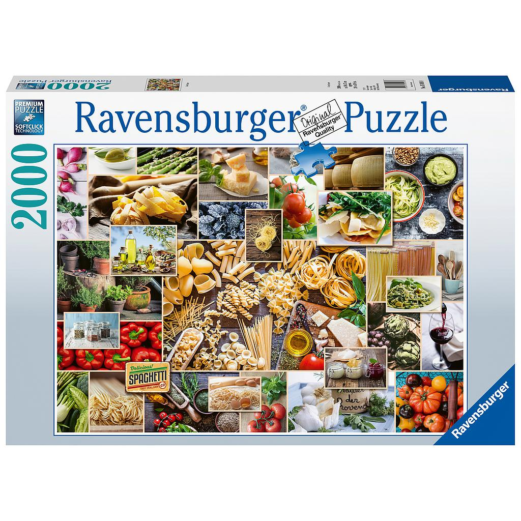 Ravensburger Puzzle 2000 pc Food Collage