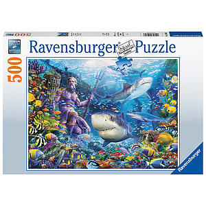 Ravensburger Puzzle 500 pc King of the Sea