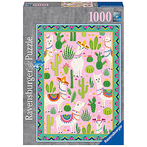 Ravensburger Puzzle 1000 pc Cute Alpacas