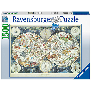 Ravensburger Puzzle 1500 pc World Map of Savages