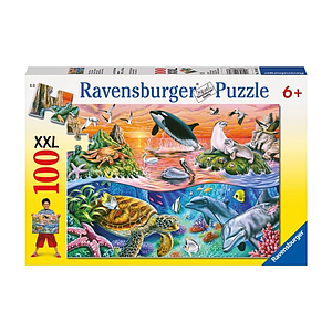 Ravensburger Puzzle 100 pc Beautiful Ocean