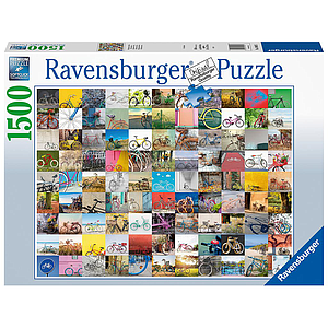 Ravensburger Puzzle 1500 pc 99 Bicycles