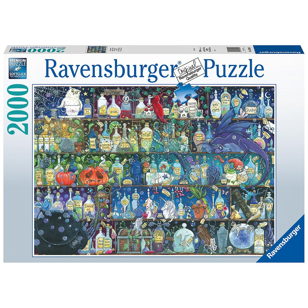 Ravensburger Puzzle 2000 pc Poisons and Potions