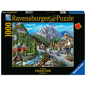 Ravensburger Puzzle 1000 pc Welcome to Banff