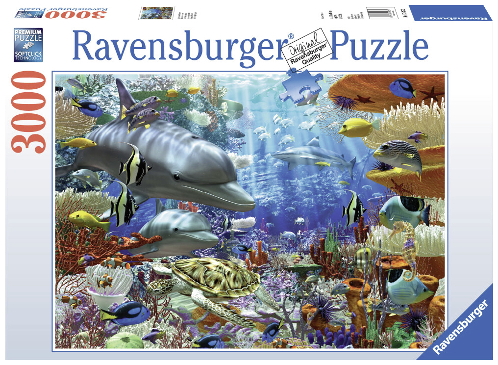 Ravensburger Puzzle 3000 pc Oceanic Wonders