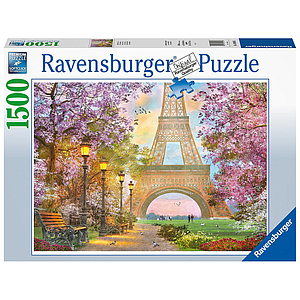 Ravensburger Puzzle 1500 pc Paris Romance