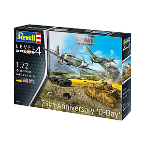 Revell 75 Years D-Day Set 1:72