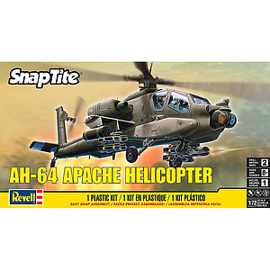 Revell AH-64 Apache Helicopter 1:72