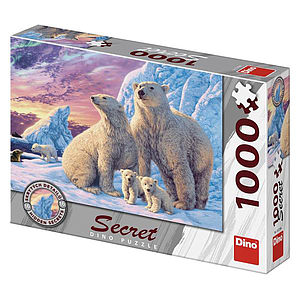 Dino Secret Puzzle 1000 pc Polar Bears