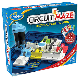 ThinkFun logic game Circuit Maze