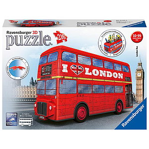 Ravensburger 3D pusle 216 tk London buss
