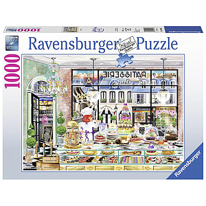 Ravensburger Puzzle 1000 pc Wanderlust: Good Morning Paris