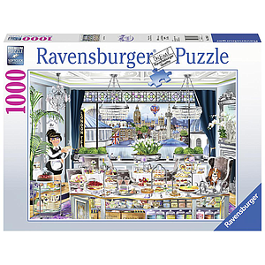 Ravensburger Puzzle 1000 pc Wanderlust: London Tea Party