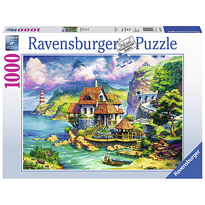 Ravensburger Puzzle 1000 pc Cliff House