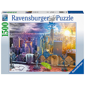 Ravensburger Puzzle 1500 pc New York Winter & Summer