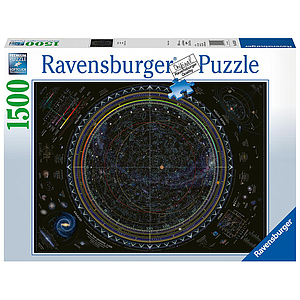 Ravensburger Puzzle 1500 pc Map of the Universe