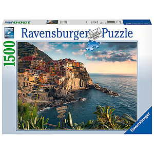 Ravensburger Puzzle 1500 pc Cinque Terre Viewpoint