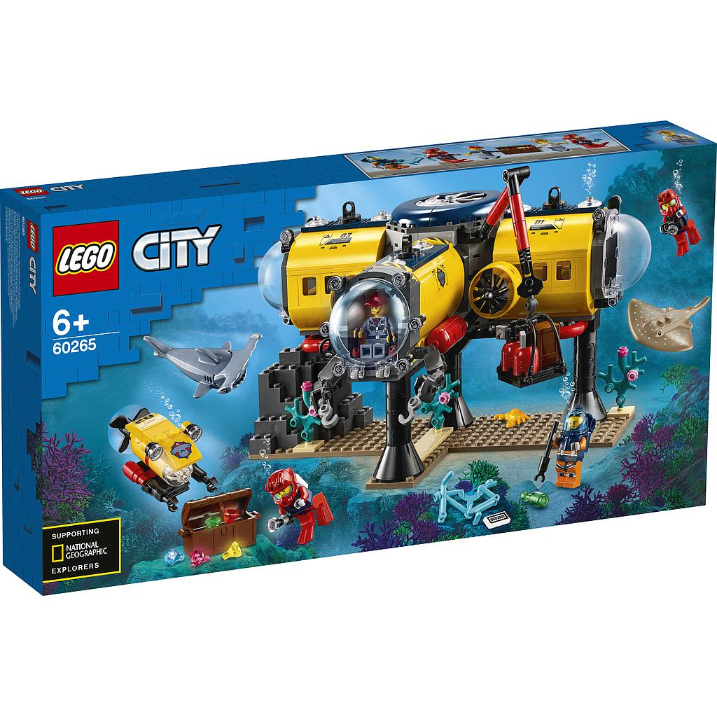 LEGO City Ocean Exploration Base